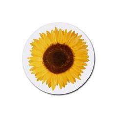 Sunflower Drink Coaster (round)