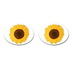 Sunflower Cufflinks (oval)