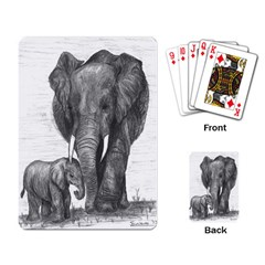 Elephant Playing Cards Single Design
