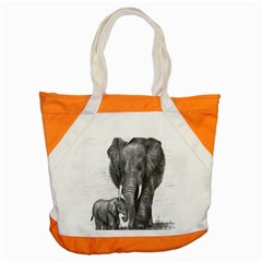 Elephant Accent Tote Bag