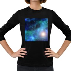 Amazing Universe Women s Long Sleeve T-shirt (Dark Colored)