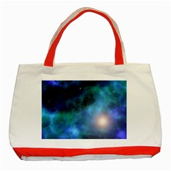 Amazing Universe Classic Tote Bag (Red)