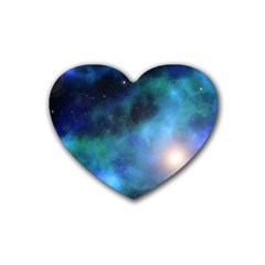 Amazing Universe Drink Coasters 4 Pack (heart)