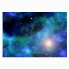 Amazing Universe Glasses Cloth (Large, Two Sided)