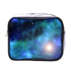 Amazing Universe Mini Travel Toiletry Bag (one Side)