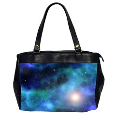 Amazing Universe Oversize Office Handbag (two Sides)