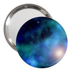 Amazing Universe 3  Handbag Mirror