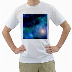Amazing Universe Men s T-Shirt (White)