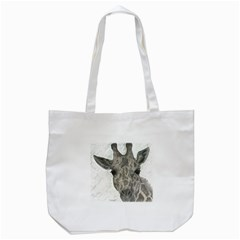 Giraffe Tote Bag (White)