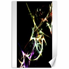 Futuristic Abstract Dance Shapes Artwork Canvas 20  x 30  (Unframed)