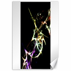 Futuristic Abstract Dance Shapes Artwork Canvas 24  X 36  (unframed)