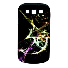 Futuristic Abstract Dance Shapes Artwork Samsung Galaxy S III Classic Hardshell Case (PC+Silicone)