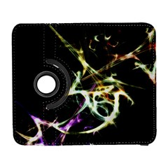 Futuristic Abstract Dance Shapes Artwork Samsung Galaxy S  III Flip 360 Case