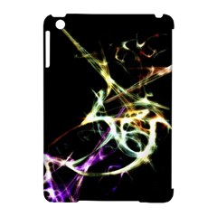 Futuristic Abstract Dance Shapes Artwork Apple Ipad Mini Hardshell Case (compatible With Smart Cover)