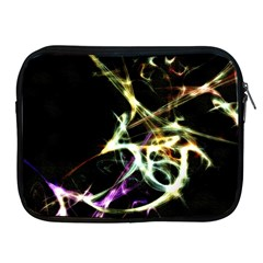Futuristic Abstract Dance Shapes Artwork Apple Ipad Zippered Sleeve