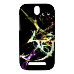 Futuristic Abstract Dance Shapes Artwork HTC One SV Hardshell Case