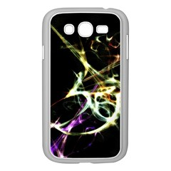 Futuristic Abstract Dance Shapes Artwork Samsung Galaxy Grand DUOS I9082 Case (White)