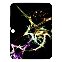 Futuristic Abstract Dance Shapes Artwork Samsung Galaxy Tab 3 (10 1 ) P5200 Hardshell Case