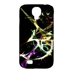 Futuristic Abstract Dance Shapes Artwork Samsung Galaxy S4 Classic Hardshell Case (PC+Silicone)