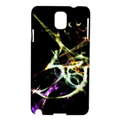 Futuristic Abstract Dance Shapes Artwork Samsung Galaxy Note 3 N9005 Hardshell Case