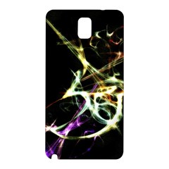Futuristic Abstract Dance Shapes Artwork Samsung Galaxy Note 3 N9005 Hardshell Back Case