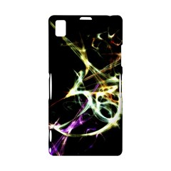 Futuristic Abstract Dance Shapes Artwork Sony Xperia Z1 L39H Hardshell Case