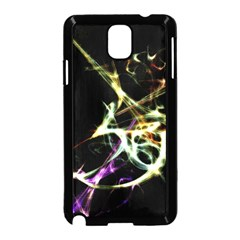 Futuristic Abstract Dance Shapes Artwork Samsung Galaxy Note 3 Neo Hardshell Case (black)