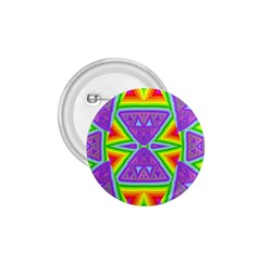 Trippy Rainbow Triangles 1 75  Button