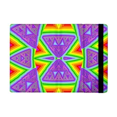 Trippy Rainbow Triangles Apple Ipad Mini Flip Case