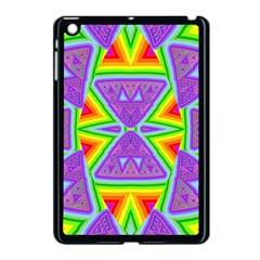 Trippy Rainbow Triangles Apple Ipad Mini Case (black)