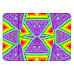 Trippy Rainbow Triangles Samsung Galaxy Tab 8.9  P7300 Flip Case