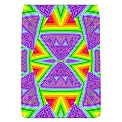 Trippy Rainbow Triangles Removable Flap Cover (Large)