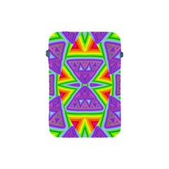 Trippy Rainbow Triangles Apple Ipad Mini Protective Sleeve