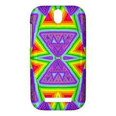 Trippy Rainbow Triangles HTC One SV Hardshell Case