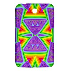 Trippy Rainbow Triangles Samsung Galaxy Tab 3 (7 ) P3200 Hardshell Case
