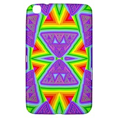 Trippy Rainbow Triangles Samsung Galaxy Tab 3 (8 ) T3100 Hardshell Case