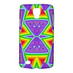 Trippy Rainbow Triangles Samsung Galaxy S4 Active (I9295) Hardshell Case