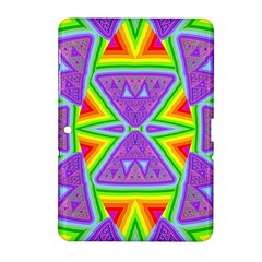Trippy Rainbow Triangles Samsung Galaxy Tab 2 (10.1 ) P5100 Hardshell Case