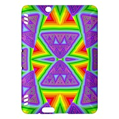 Trippy Rainbow Triangles Kindle Fire HDX 7  Hardshell Case