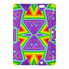 Trippy Rainbow Triangles Kindle Fire HDX 8.9  Hardshell Case