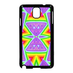 Trippy Rainbow Triangles Samsung Galaxy Note 3 Neo Hardshell Case (Black)