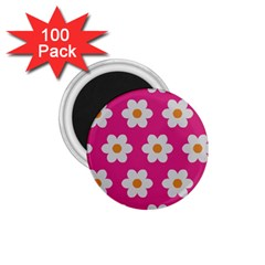 Daisies 1.75  Button Magnet (100 pack)