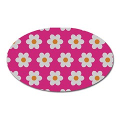 Daisies Magnet (Oval)