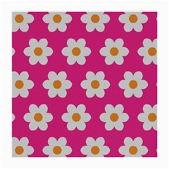 Daisies Glasses Cloth (Medium, Two Sided)