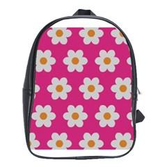 Daisies School Bag (large)