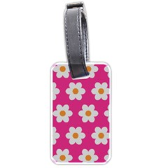 Daisies Luggage Tag (two Sides)