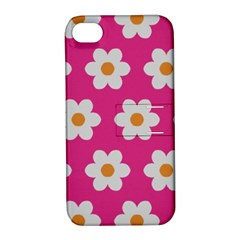 Daisies Apple Iphone 4/4s Hardshell Case With Stand