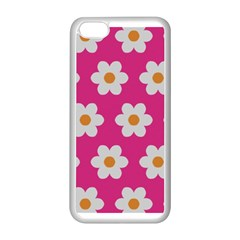 Daisies Apple iPhone 5C Seamless Case (White)