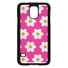 Daisies Samsung Galaxy S5 Case (black)