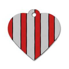 Image Dog Tag Heart (One Sided)